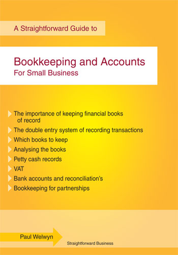 bookkeeping and accounts cover